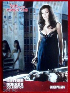 BRITISH-HORROR-COLLECTION-Blood-From-The-Mummy-039-s-Tomb-SARCOPHAGUS-Card-03