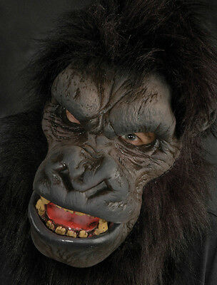 Gorilla Ape Man Zagone Studios Adult Latex Halloween Mask - Zagone Studios Halloween Masks