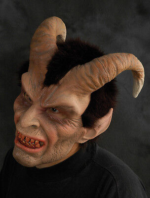 Elegant Horned Devil Adult Latex Zagone Studios Halloween Mask - Zagone Studios Halloween Masks