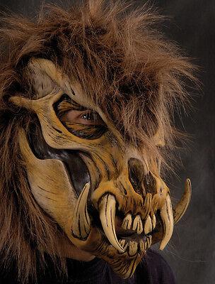 Wild Thing Monster Werewolf Skull Demon Adult Latex Halloween Mask