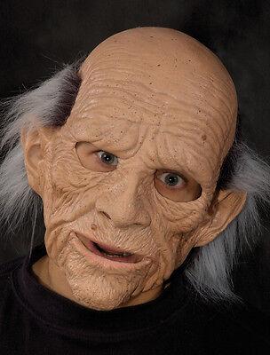 Old Man Bald Geezer Adult Latex Halloween Mask