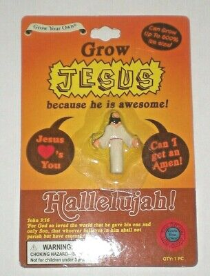 Grow Your Own JESUS Novelty Toy NEW