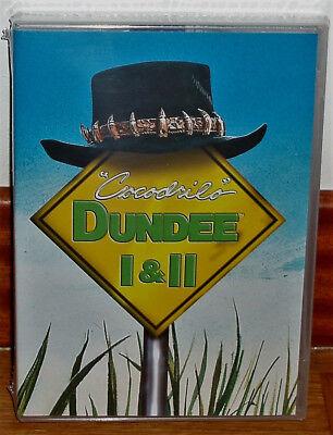COCODRILO DUNDEE 1 Y 2 NUEVO PRECINTADO 2 DVD AVENTURAS COMEDIA (SIN...