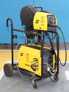 MIG-TIG-STICK Welder 3-Phase ESAB WARRIOR 400i + EXTRAS Malaga Swan Area Preview