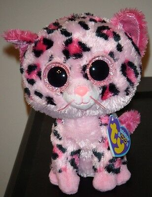 Ty Beanie Boos ~ GYPSY the Pink Cheetah (Justice Exclusive)(6 Inch) NEW MWMT - The Pink Cheetah