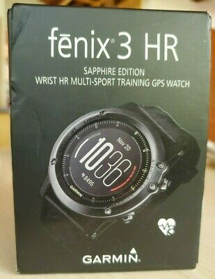 Garmin Fenix 3 HR Sapphire Multi-Sport SMART Watch