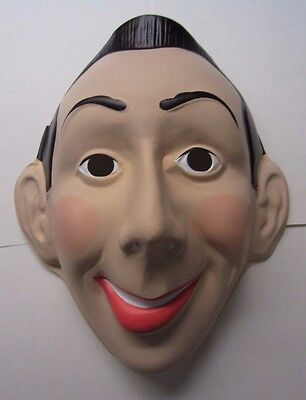 PEE WEE HERMAN 1987 Costume Halloween  Mask - Nos ( New Old Stock ) Peewee](Peewee Herman Costume)