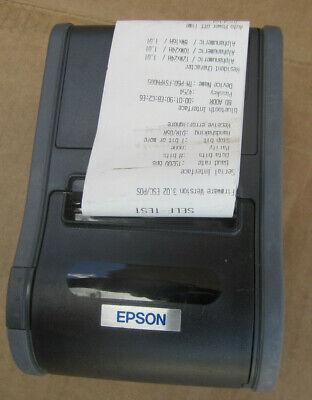Epson M196b Tm-p60 Pos Mobile Receipt Printer