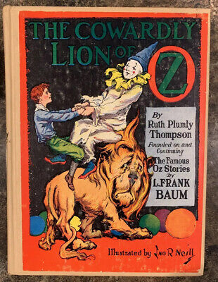 The Cowardly Lion of Oz  L Frank - Wizard Of Oz The Lion
