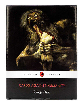 Cards Against Humanity College Pack Expansion Edition New Cards For Party Game