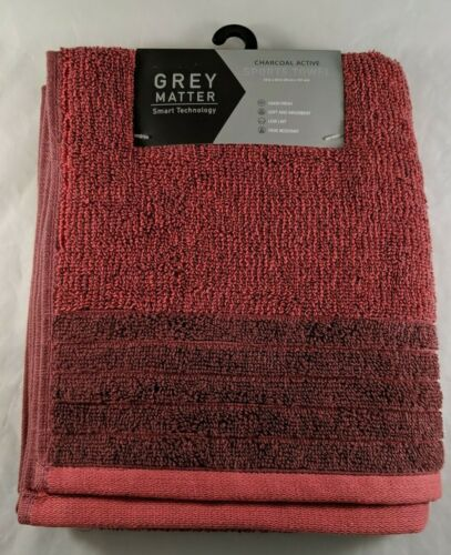 Sports Towel Charcoal Active Absorbent Soft Coral Gym Yoga Exercise Fitness New