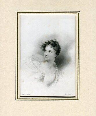 Junge Ianthe Gravierkunst E.Finden Gezeichnete bei R. Westall in 1832-34, gebraucht gebraucht kaufen  Versand nach Germany