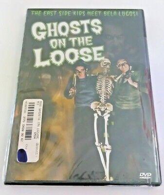 GHOSTS ON THE LOOSE DVD MOVIE EAST SIDE KIDS MEET BELA LUGOSI HORROR-COMEDY - Kids Ghost Movies