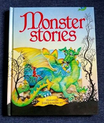 Monster Stories Collection by Jane Launchbury (1991) Halloween](Fiction Halloween Stories)