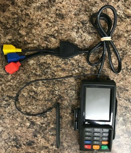 Pax S300 5.0V Credit Card Terminal Pin Pad and Cables