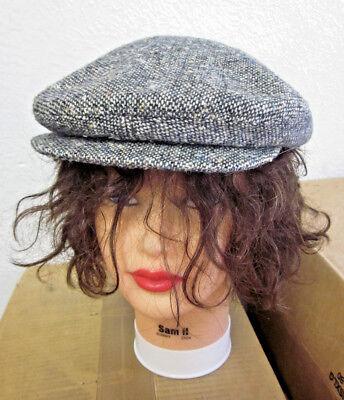 - TOTES vtg plaid newsboy hat Ohio cabbie 1980s classic flat cap Gatsby