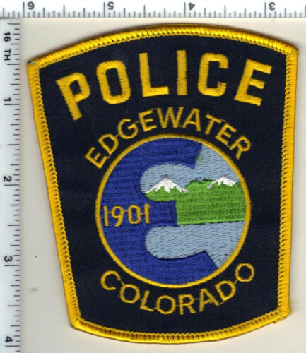 Edgewater Police (Colorado) Shoulder Patch - new from 1989