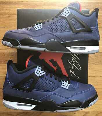 Nike Air Jordan 4 Retro Winterized Loyal Blue CQ9597-401 Size 11 New W/Receipt