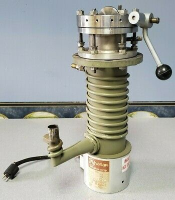Varian Diffusion Pump 0160 W Edwards Speedivac Butterfly Valve