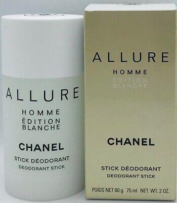 Chanel ALLURE HOMME Édition Blanche pour Homme Deodorant Stick 75 ml OVP/NEU