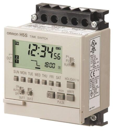 OMRON H5S-YFB2-X ELECTRONIC TIMER, 365 DAYS 100 to 240 V AC H5S Time Switch