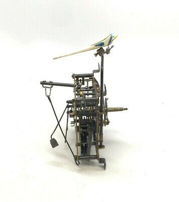 Regula E. Schmeckenbecher 24 GM Made In Germany Brass Cuckoo Clock Movement
