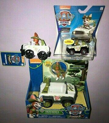PAW PATROL JUNGLE RESCUE TRACKER'S JUNGLE CRUISER & RACER + DIE CAST (Paw Patrol Jungle Rescue Trackers Jungle Cruiser)