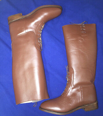 British or American Officer Semi-Dress Riding Boots Size 12 New