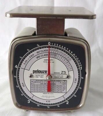 Vintage Pelouze Model Z5 Postal Scale1991