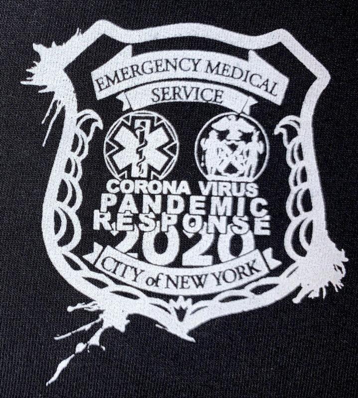 FDNY NYC Fire Department New York City SweatShirt Sz M EMS Paramedic Brooklyn US