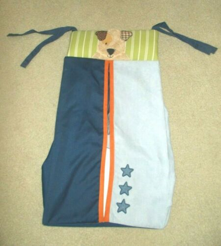 Lambs & Ivy Bow Wow buddies / Dog / Puppy / Animal Diaper Stacker