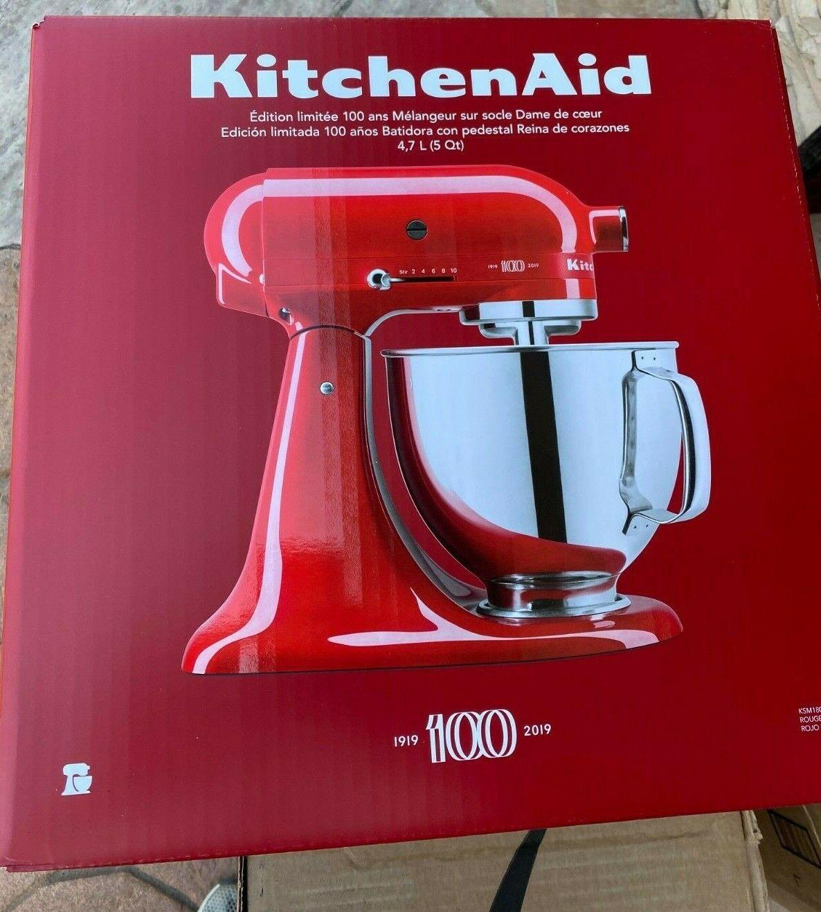 KitchenAid KSM180QHSD 100 Year Limited Edition Queen of Hear