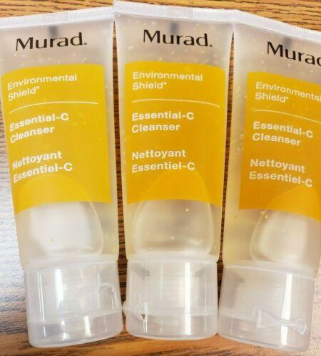 3X Murad Environmental Shield Essential C Cleanser 1.5oz/45ml TRAVEL Ipsy