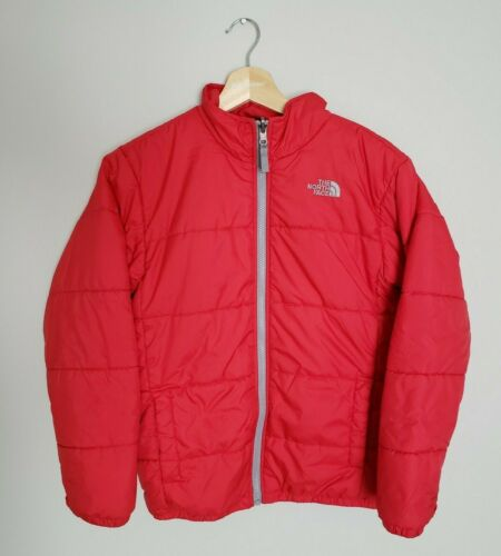Youth The North Face Lightweight Puffer Jacket Size Large Red Boy