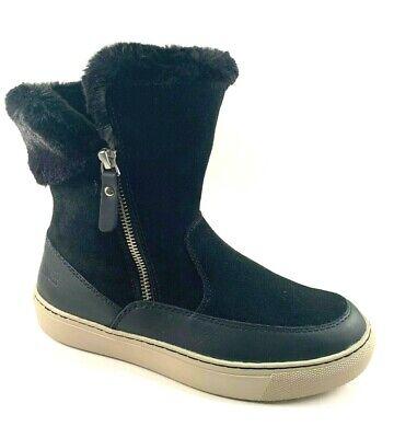 Cougar Dresden Black Leather/ Suede Waterproof  Mid Calf Winter Sneaker -