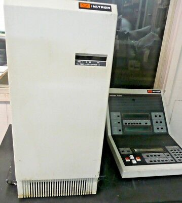 Instron 4500 Series Digital Controller Console Tensile Compression Tester Astm