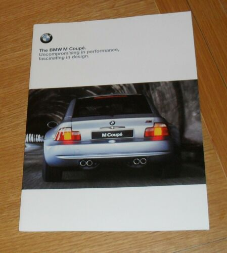 BMW M Coupe Brochure 1998-1999