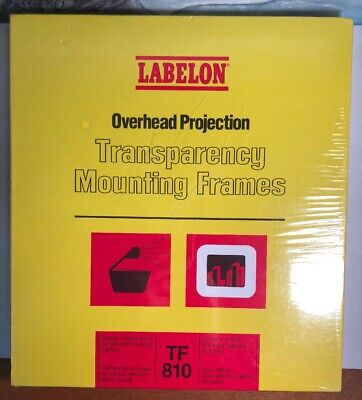 Labelon Cardboard Transparency Mounting Frames Tf 810 Never Used 50 Sealed Box