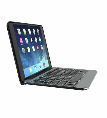 ZAGG Slim Book Ultrathin Hinged Bluetooth Keyboard Case for Apple iPad Mini 4