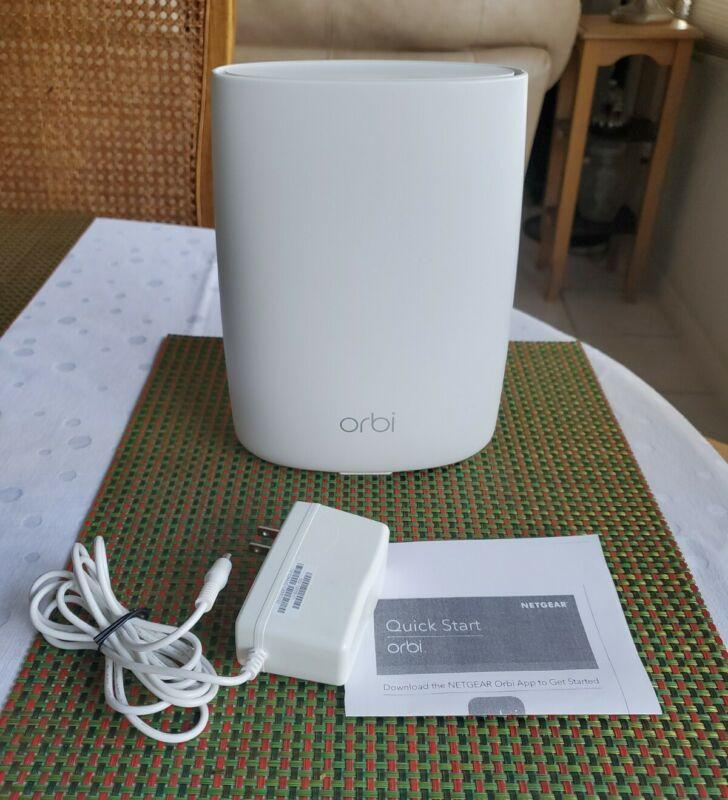 Netgear Orbi RBS50 AC3000 Satellite Tri-Band WiFi Extender ~ Great Condition