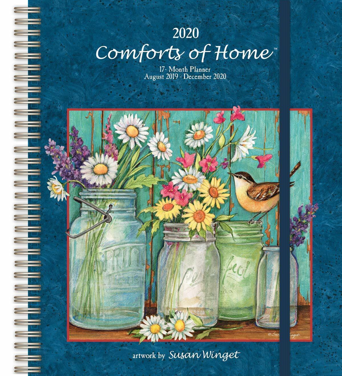 comforts of home 2020 deluxe planning calendar