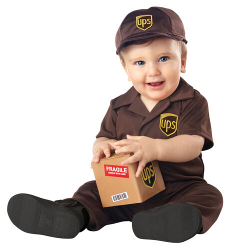 Infant UPS Baby Costume
