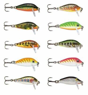 Rapala Countdown  1 inch Trout Fishing Balsa Wood Hard Lure Crankbait  1 Inch Lure