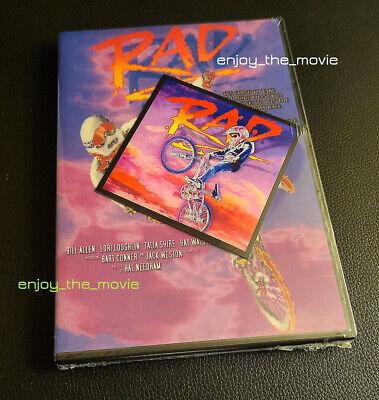 RAD (1986) DVD Classic BMX Movie & Cru Jones Magnet New Sealed (Read details)