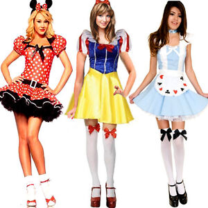 Halloween-Fairytale-Storybook-Character-Fancy-Dress-Costume-Outfit-Many-Styles