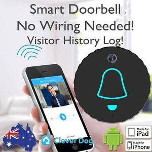 DIY Smart Wireless Doorbell Security Camera with 1 Year Warranty Sydney City Inner Sydney Preview