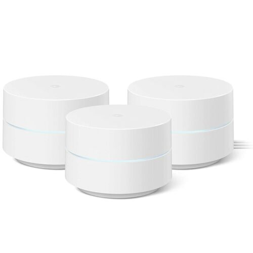 Google Wi-Fi Whole-Home Mesh Wi-Fi Router System - 3 Pack