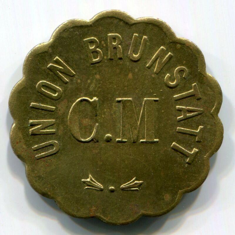 France, Union Brunstatt - Cercle Musical Token