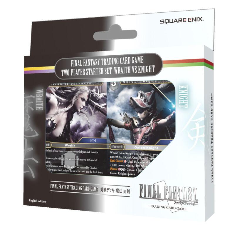 Final Fantasy TCG 2-Player Starter Set Wraith vs Knight