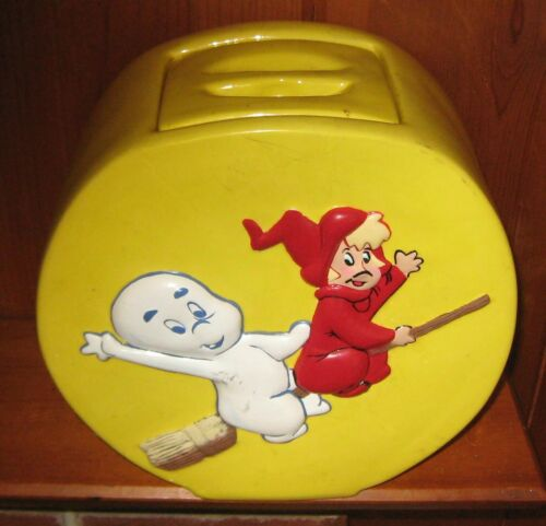 Antique Cookie Jar Casper The Friendly Ghost Wendy The Good Little Witch Nice